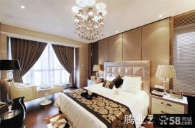 90平米两室一厅主卧室装修效果图
