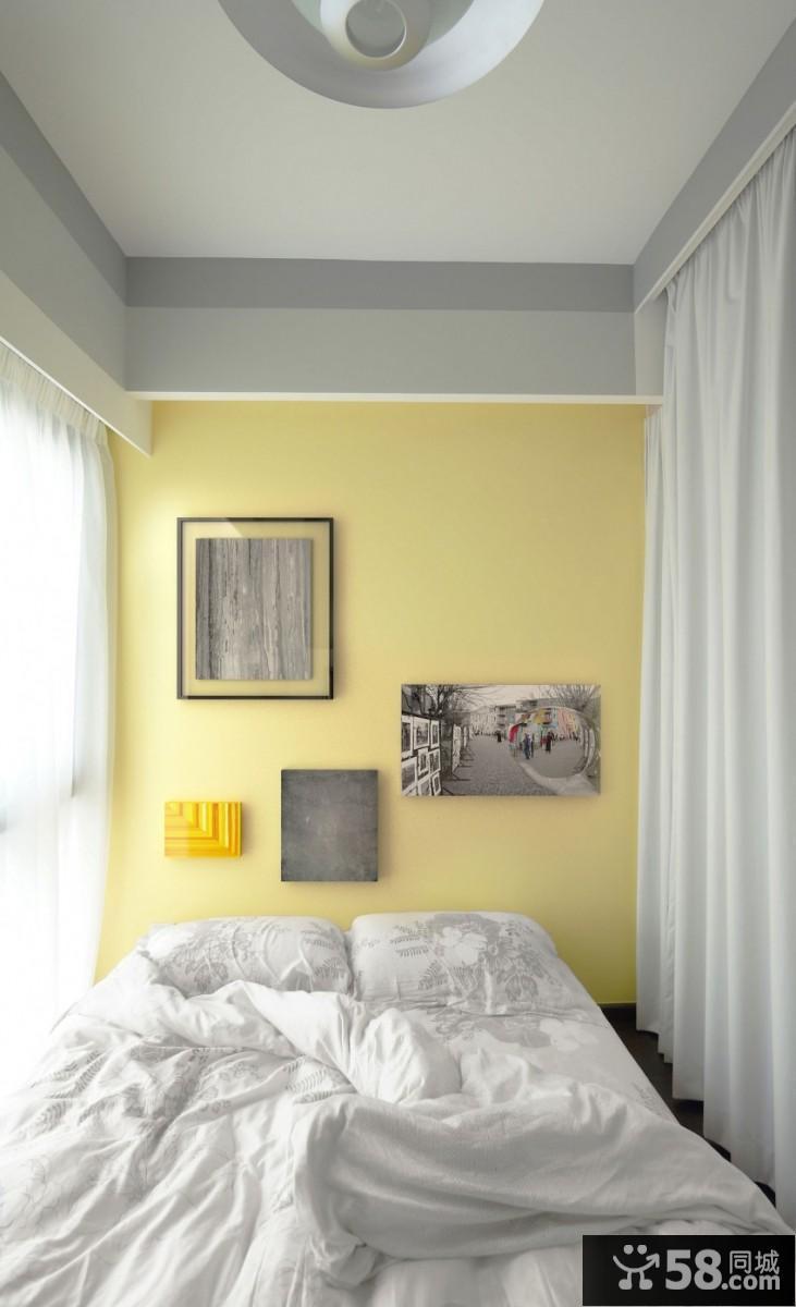 40平米简约公寓房间装修设计图片