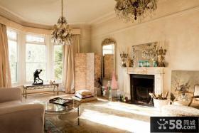 低调奢华的欧式客厅装修效果图大全2012图片