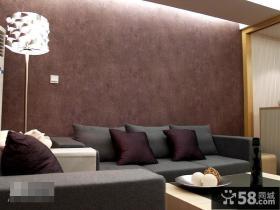 欧式风格客厅沙发背景墙效果图