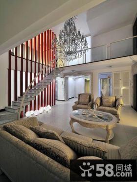 时尚现代别墅室内设计效果图片