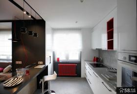 时尚简约风格厨房设计图片