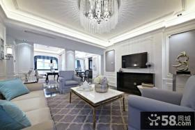 现代家装客厅电视背景墙图片欣赏大全