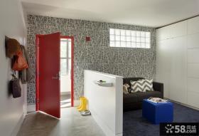 北欧设计休闲区隔断装修效果图欣赏