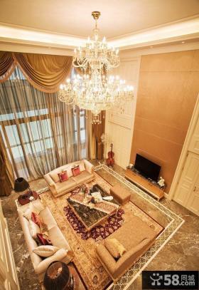 欧式客厅吊灯图片欣赏