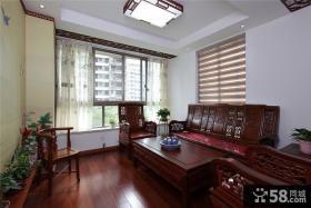 古典中式二居装潢设计