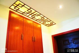 新中式家装衣柜设计