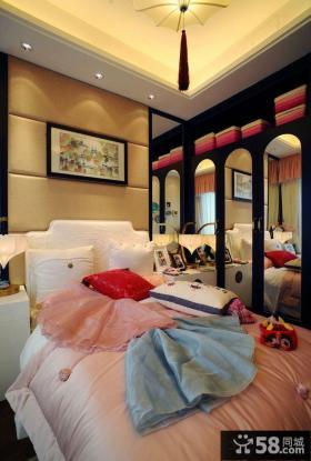 小空间女生卧室设计