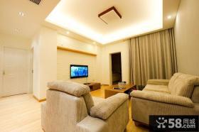 家装客厅装修吊顶设计效果图片