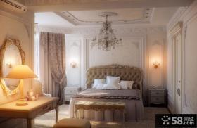 欧式豪华卧室装修效果图大全2012图片 卧室吊顶装修图片