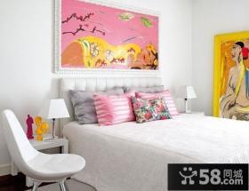 小复式楼冷色调客厅装修效果图 清凉一夏