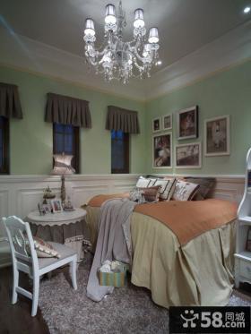 美式田园风格卧室效果图欣赏大全