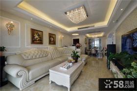 贵气简欧风格复式家装设计