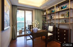 新古典风格设计复式书房装修图片