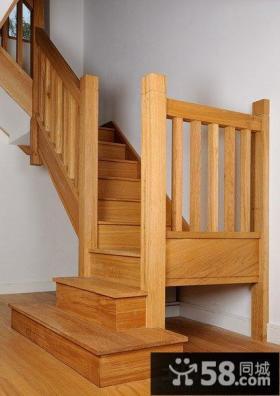 实木楼梯装修效果图片大全