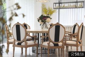 中式现代别墅餐厅设计图片