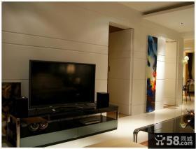 现代风格家庭装修背景墙设计
