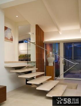 120平米现代简约复式楼装修效果图
