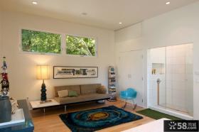70平小户型简约客厅装修效果图大全2012图片