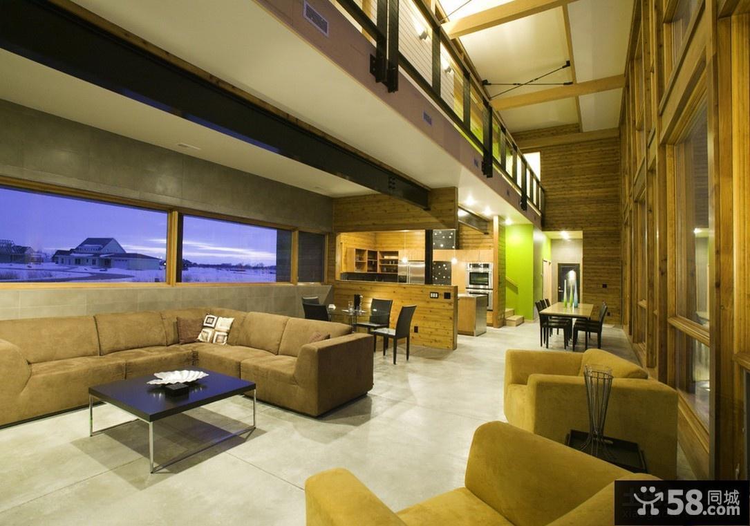 美式现代风格客厅装修
