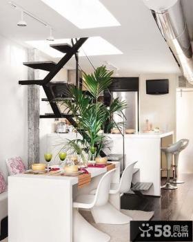 现代田园客厅吊顶装修效果图 客厅阳台装修图片