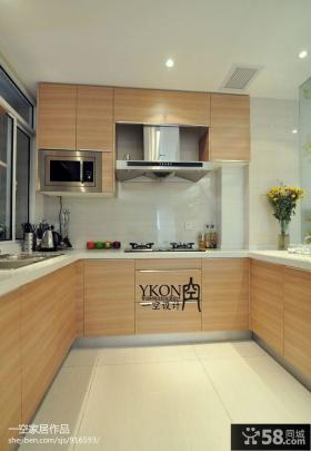 U型小厨房橱柜效果图大全