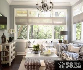 90平小户型欧式风格客厅装修效果图大全2012图片