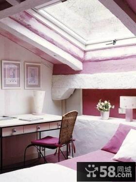白色格调的客厅吊顶设计 散发自然清醒气息的蜗居