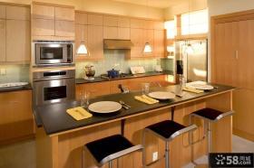欧式古典家具厨房整体橱柜图片
