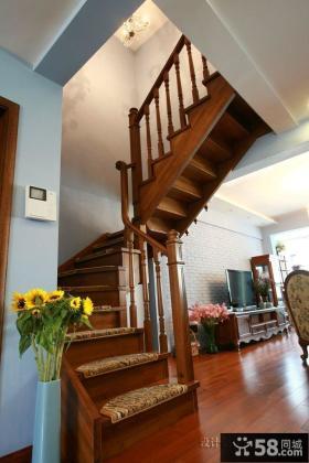 小复式楼梯装修效果图大全2014图片