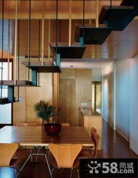 优质日式风格复式楼房装修效果图2014图片