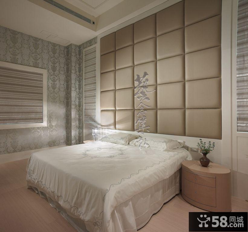 床头背景墙装修效果图大全2015图片