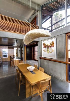 日式风格餐厅装修设计效果图