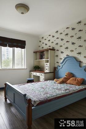 小户型地中海卧室装修效果图
