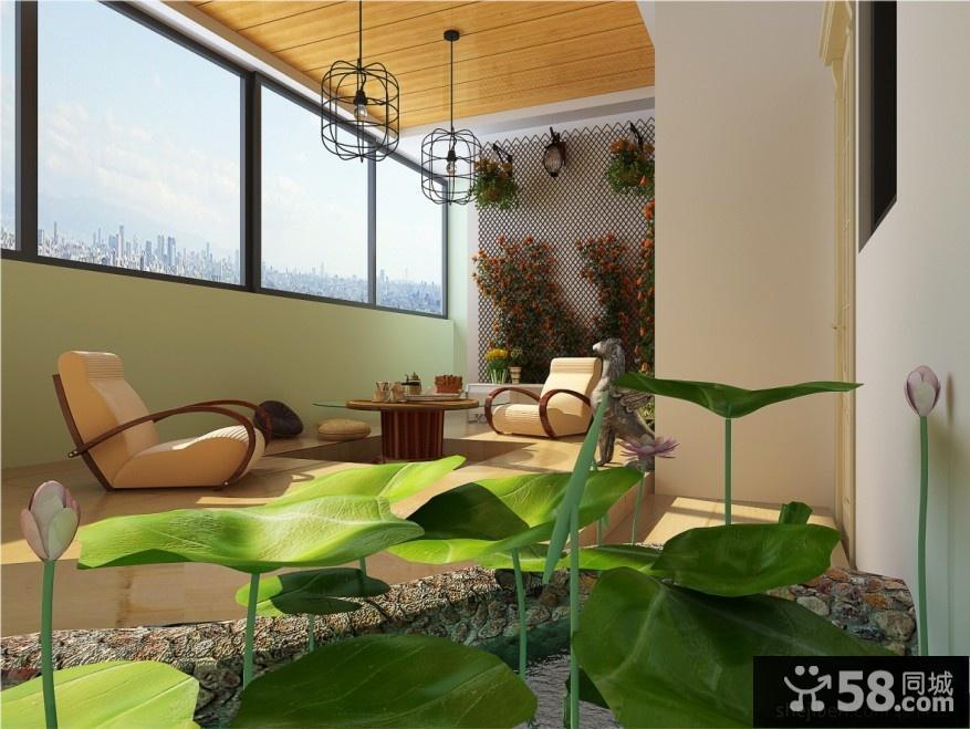 室內陽臺設計圖片