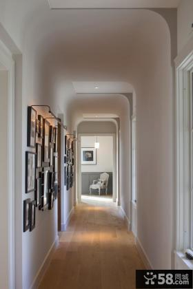 家庭走廊吊顶效果图 玄关吊顶装修效果图