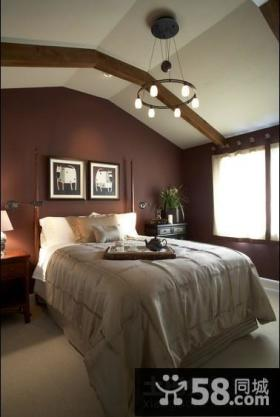 欧式田园风格家居卧室