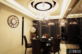 现代风格豪华餐厅设计图