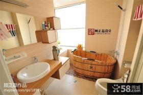 时尚现代风格卫生间浴室装修效果图
