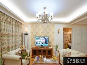 美式风格小户型家居装饰效果图