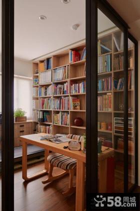 美式风格书房图片欣赏大全
