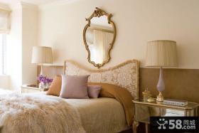 美式装修风格卧室样板房