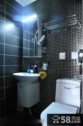卫生间马赛克瓷砖背景墙效果图