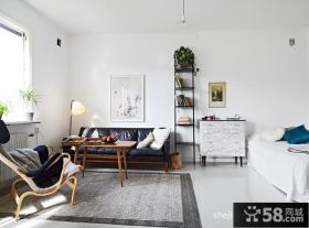 35平米小户型客厅装修图
