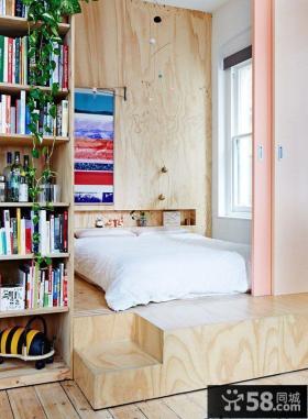宜家创意家居卧室床设计图片