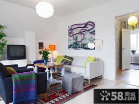 70平小户型设计 2014客厅装修效果图
