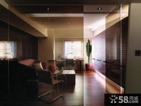 美式现代风格三居室内设计图片欣赏