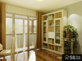 书房阳台隔断装饰设计