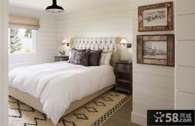复古欧式风格家居卧室装修效果图