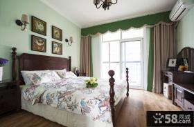 田园美式风格家装卧室图片大全